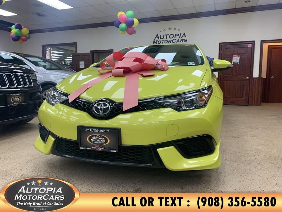Used Toyota Corolla iM CVT (Natl) 2017 | Autopia Motorcars Inc. Union, New Jersey