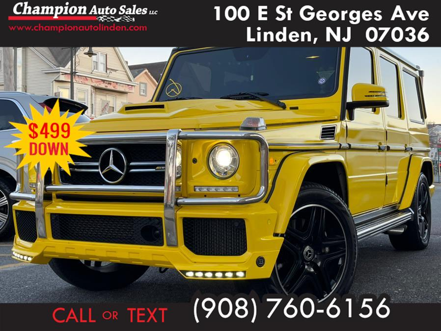 Used 2015 Mercedes-Benz G-Class in Linden, New Jersey | Champion Auto Sales. Linden, New Jersey