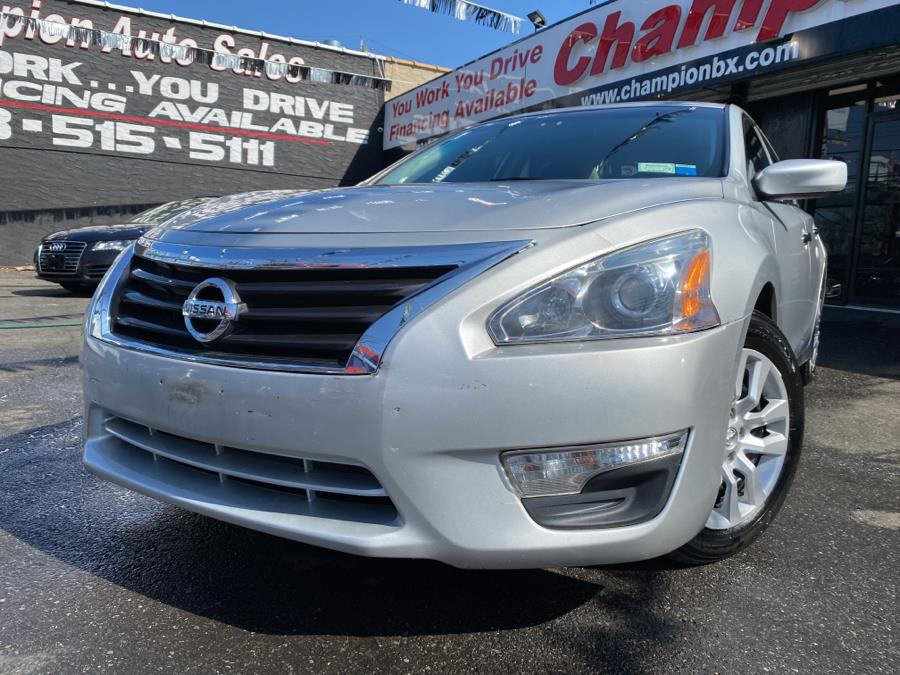 Used 2015 Nissan Altima in Bronx, New York | Champion Auto Sales. Bronx, New York
