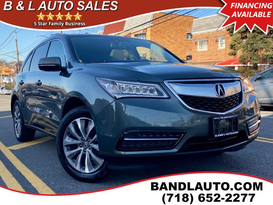 Used 2014 Acura MDX in Bronx, New York | B & L Auto Sales LLC. Bronx, New York