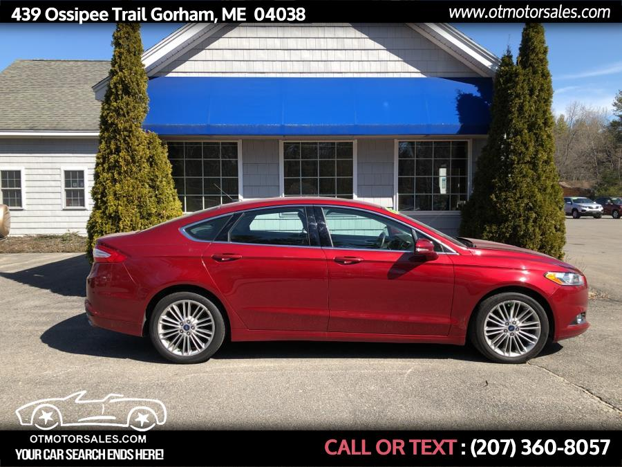 Used 2015 Ford Fusion in Gorham, Maine | Ossipee Trail Motor Sales. Gorham, Maine