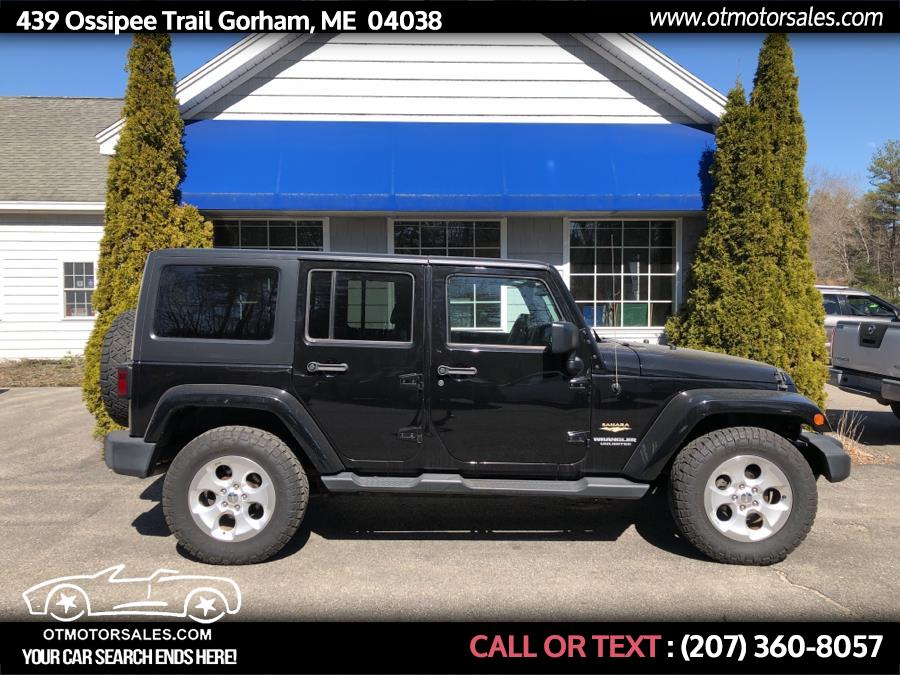 Used 2015 Jeep Wrangler Unlimited in Gorham, Maine | Ossipee Trail Motor Sales. Gorham, Maine