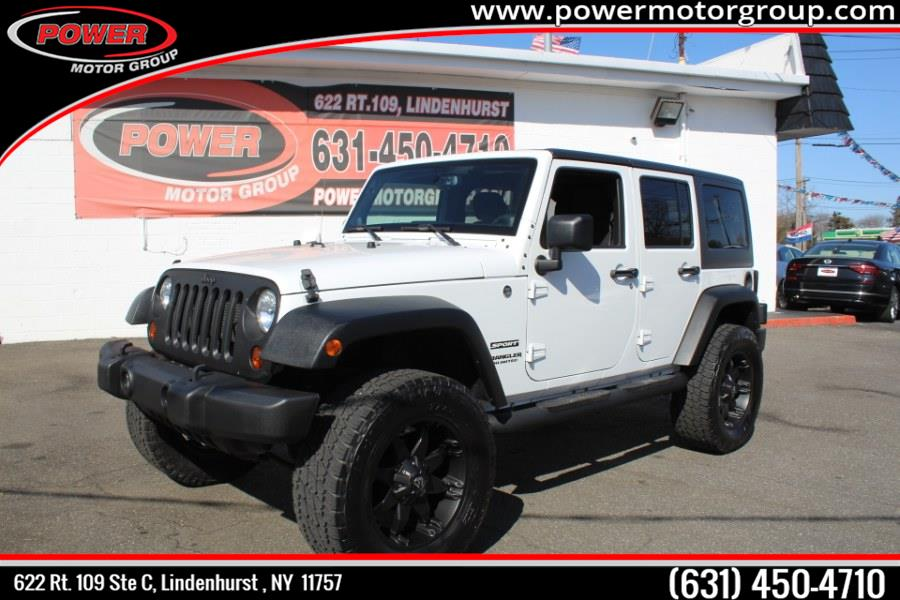 Used Jeep Wrangler Unlimited 4WD 4dr Freedom Edition *Ltd Avail* 2013 | Power Motor Group. Lindenhurst , New York