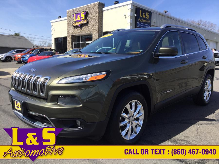 Used 2015 Jeep Cherokee in Plantsville, Connecticut | L&S Automotive LLC. Plantsville, Connecticut