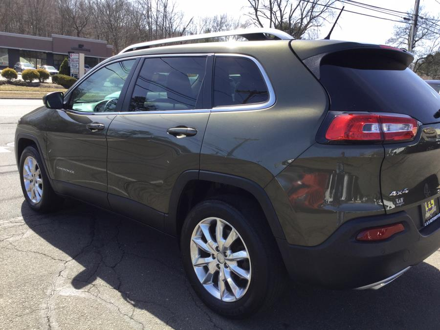 Used Jeep Cherokee 4WD 4dr Limited 2015 | L&S Automotive LLC. Plantsville, Connecticut