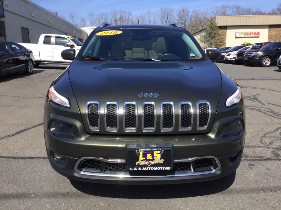 Used Jeep Cherokee 4WD 4dr Limited 2015   L&S Automotive LLC. Plantsville, Connecticut