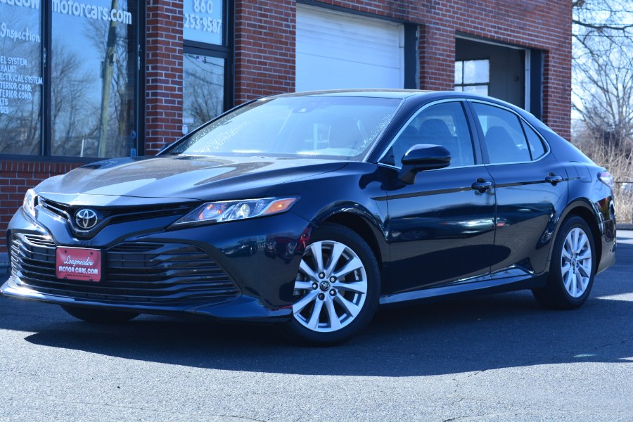 Used 2018 Toyota Camry in ENFIELD, Connecticut | Longmeadow Motor Cars. ENFIELD, Connecticut