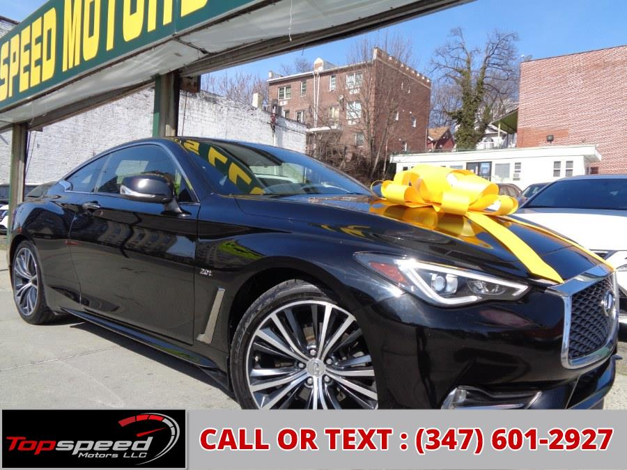 Used 2017 INFINITI Q60 in Jamaica, New York | Top Speed Motors LLC. Jamaica, New York