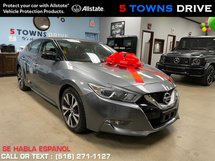 Used Nissan Maxima 4dr Sdn 3.5 S 2016 | 5 Towns Drive. Inwood, New York