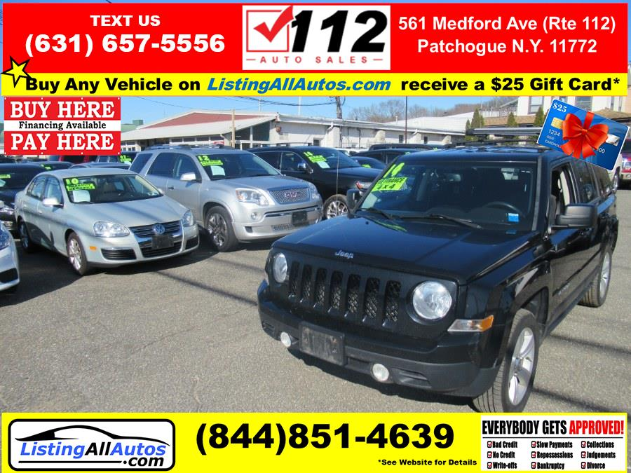Used Jeep Patriot 4WD 4dr Latitude 2014 | www.ListingAllAutos.com. Patchogue, New York