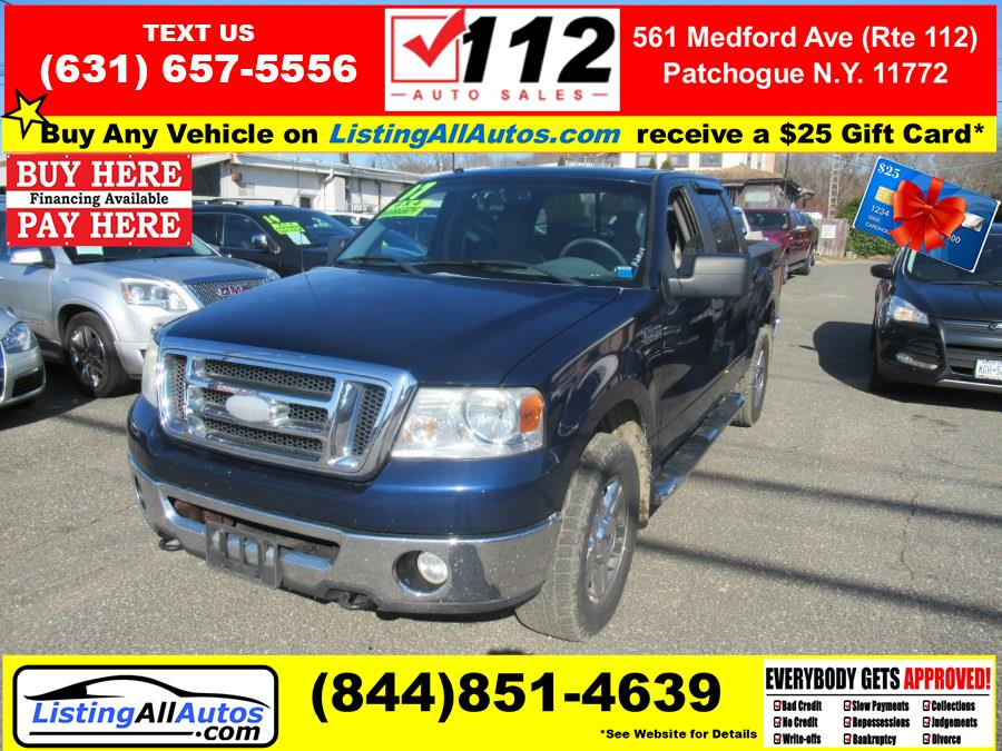 Used 2007 Ford F-150 in Patchogue, New York | www.ListingAllAutos.com. Patchogue, New York