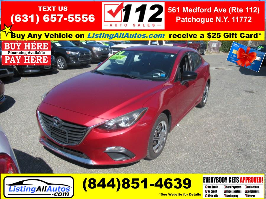 Used 2014 Mazda Mazda3 in Patchogue, New York | www.ListingAllAutos.com. Patchogue, New York