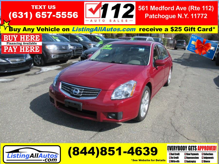 Used 2008 Nissan Maxima in Patchogue, New York | www.ListingAllAutos.com. Patchogue, New York