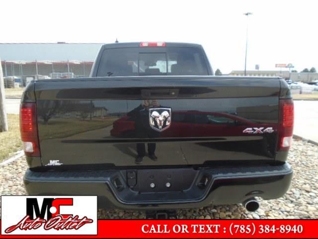 "Used Ram 1500 Sport 4x4 Crew Cab 5''7"" Box *Ltd Avail* 2018   M C Auto Outlet Inc. Colby, Kansas"