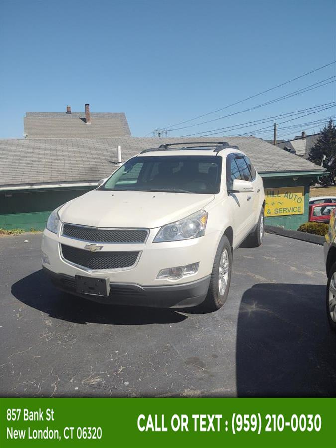 Used Chevrolet Traverse AWD 4dr LT w/1LT 2011   McAvoy Inc dba Town Hill Auto. New London, Connecticut