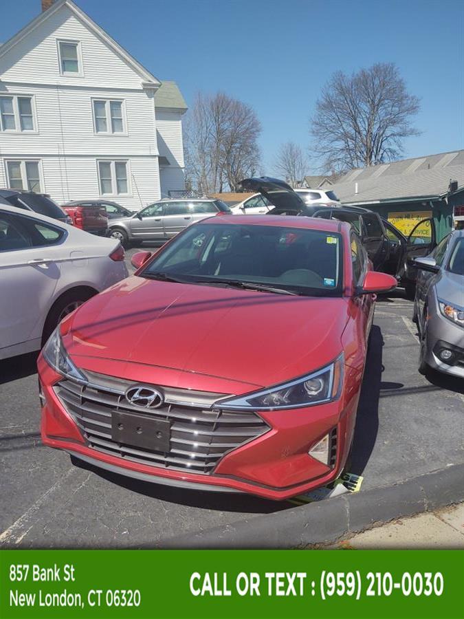 Used Hyundai Elantra SEL Auto 2019 | McAvoy Inc dba Town Hill Auto. New London, Connecticut