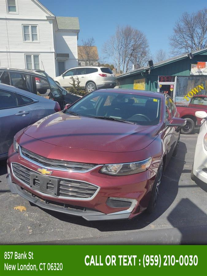 Used Chevrolet Malibu 4dr Sdn LT w/1LT 2016   McAvoy Inc dba Town Hill Auto. New London, Connecticut