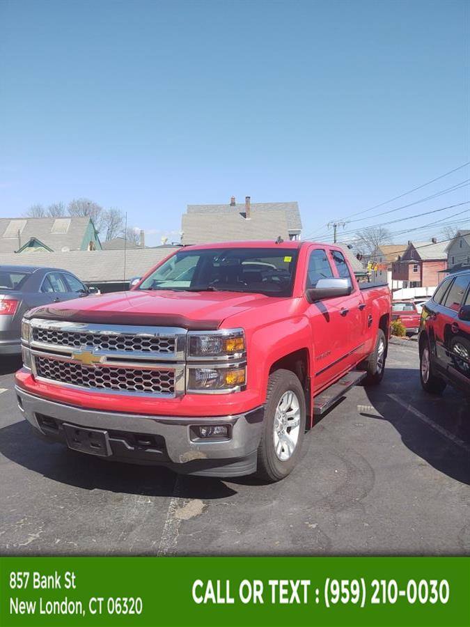 "Used Chevrolet Silverado 1500 4WD Double Cab 143.5"" LT w/1LT 2014 | McAvoy Inc dba Town Hill Auto. New London, Connecticut"