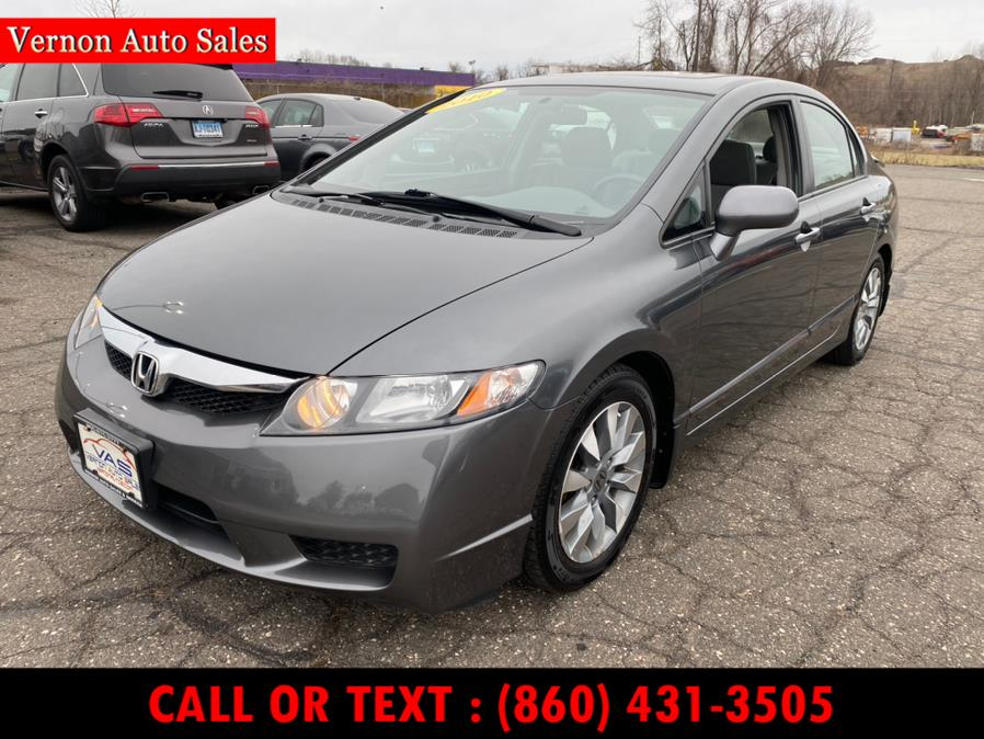 Used 2010 Honda Civic Sdn in Manchester, Connecticut | Vernon Auto Sale & Service. Manchester, Connecticut
