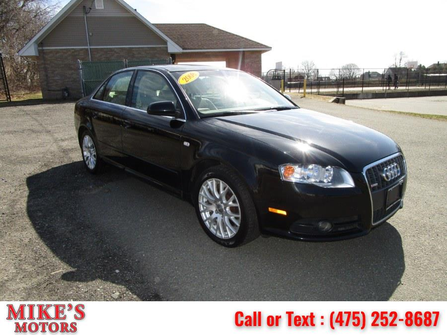 Used Audi A4 4dr Sdn Auto SE 2.0T quattro 2008 | Mike's Motors LLC. Stratford, Connecticut