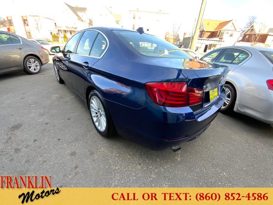 Used BMW 5 Series 4dr Sdn 535i xDrive AWD 2013 | Franklin Motors Auto Sales LLC. Hartford, Connecticut