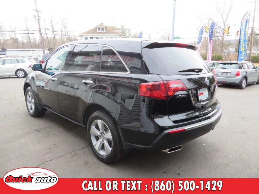 Used Acura MDX AWD 4dr Tech Pkg 2012 | Quick Auto LLC. Bristol, Connecticut