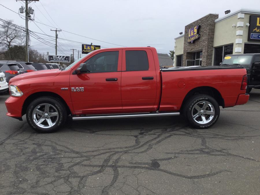"Used Ram 1500 4WD Quad Cab 140.5"" Tradesman 2015   L&S Automotive LLC. Plantsville, Connecticut"