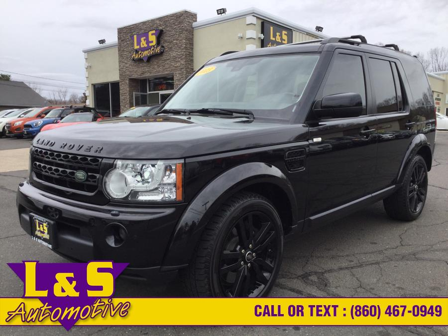 Used Land Rover LR4 4WD 4dr LUX 2013 | L&S Automotive LLC. Plantsville, Connecticut