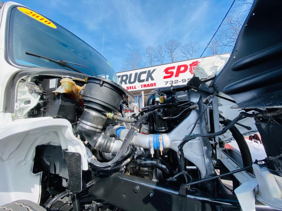 Used Freightliner M2 PALFINGER PK12000 PERFORMANCE CRANE MOUNTEDKNUCKLE 2010 | NJ Truck Spot. South Amboy, New Jersey