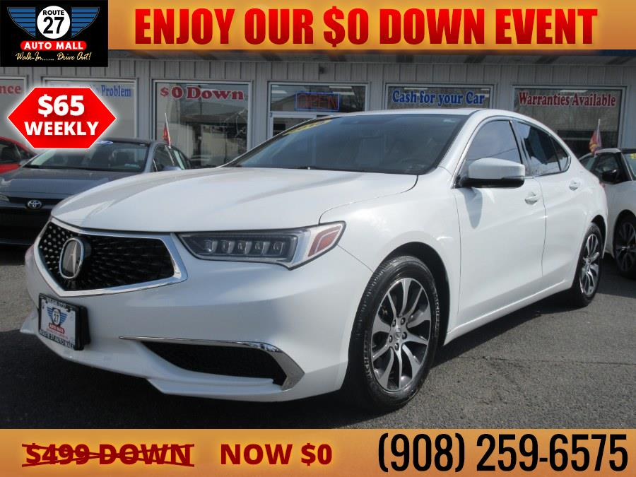 Used 2018 Acura TLX in Linden, New Jersey | Route 27 Auto Mall. Linden, New Jersey