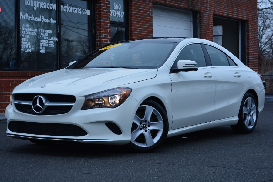 Used 2018 Mercedes-Benz CLA in ENFIELD, Connecticut | Longmeadow Motor Cars. ENFIELD, Connecticut