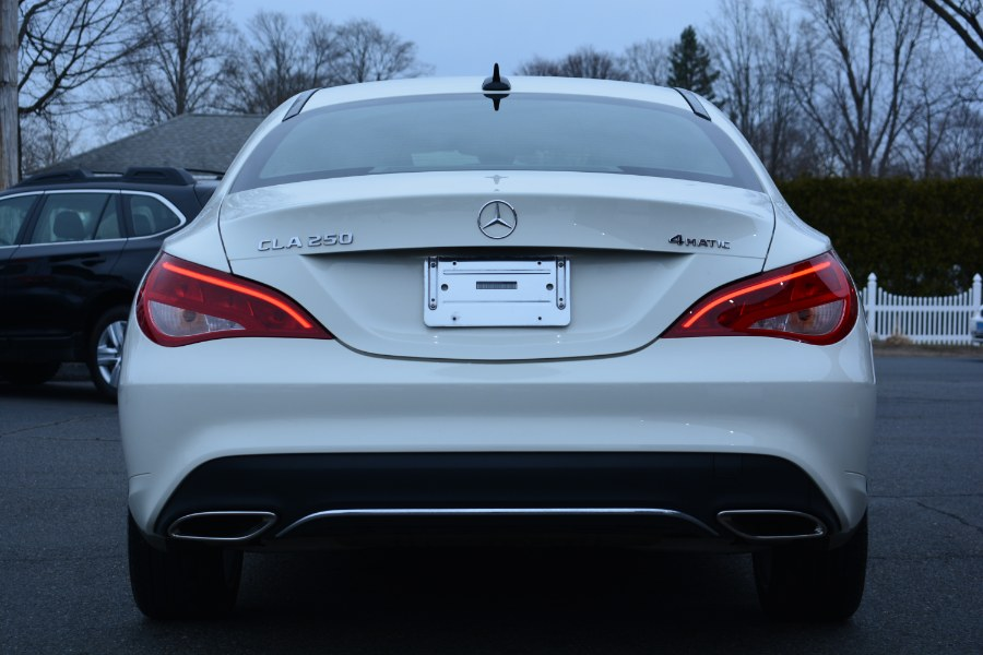 Used Mercedes-Benz CLA CLA 250 4MATIC Coupe 2018 | Longmeadow Motor Cars. ENFIELD, Connecticut