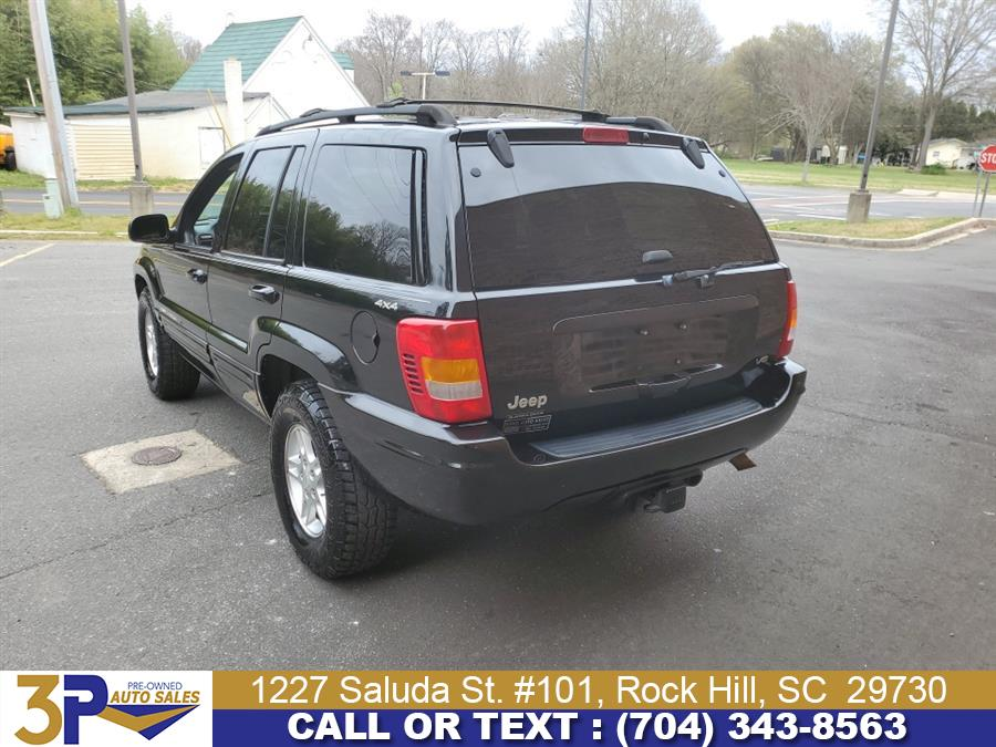 Used Jeep Grand Cherokee 4dr Limited 4WD 2000   3 Points Auto Sales. Rock Hill, South Carolina