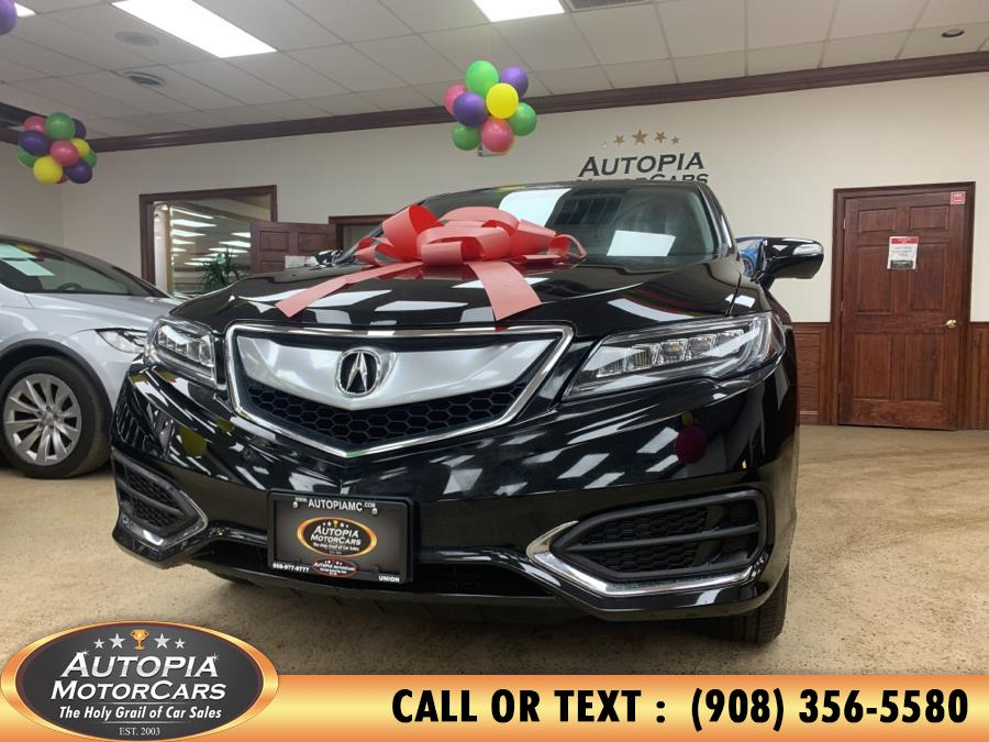 Used 2018 Acura RDX in Union, New Jersey | Autopia Motorcars Inc. Union, New Jersey