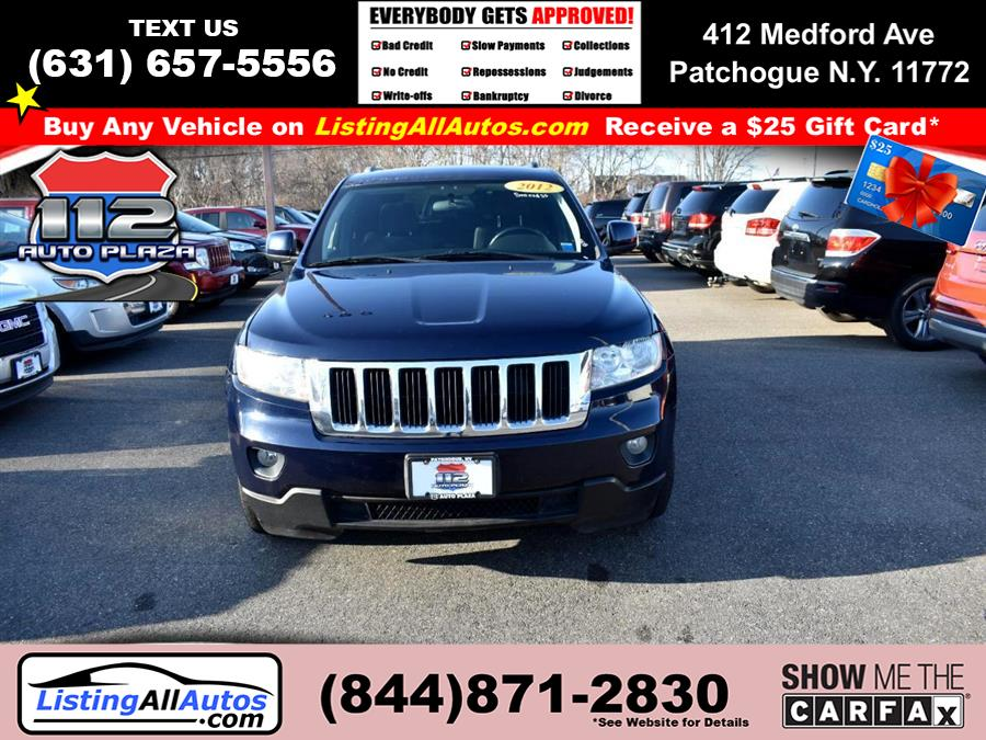 Used Jeep Grand Cherokee 4WD 4dr Laredo 2012 | www.ListingAllAutos.com. Patchogue, New York