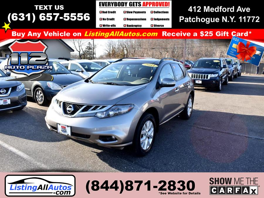 Used 2011 Nissan Murano in Patchogue, New York | www.ListingAllAutos.com. Patchogue, New York