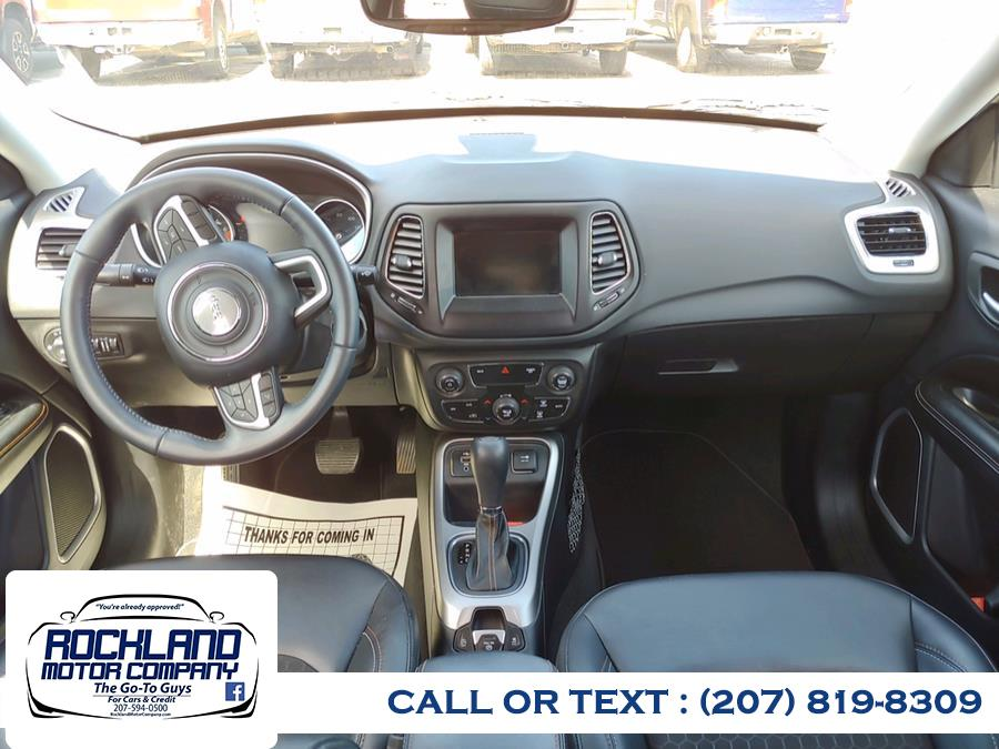 Used Jeep Compass Altitude FWD 2018   Rockland Motor Company. Rockland, Maine