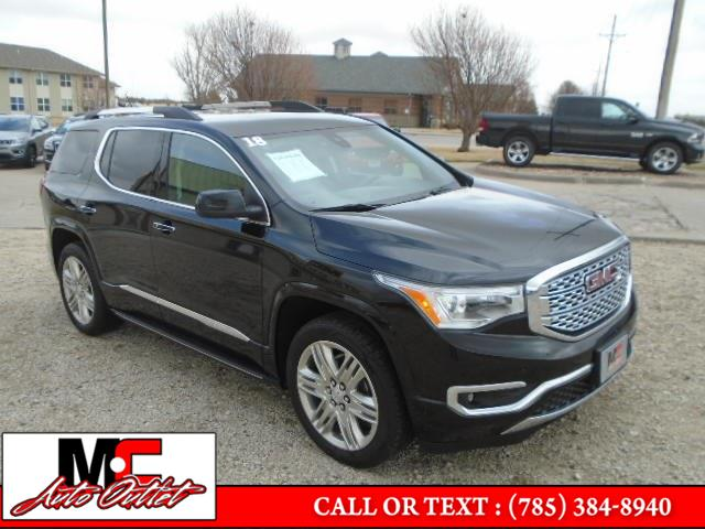 Used 2018 GMC Acadia in Colby, Kansas | M C Auto Outlet Inc. Colby, Kansas