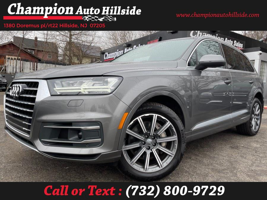 Used 2018 Audi Q7 in Hillside, New Jersey | Champion Auto Hillside. Hillside, New Jersey