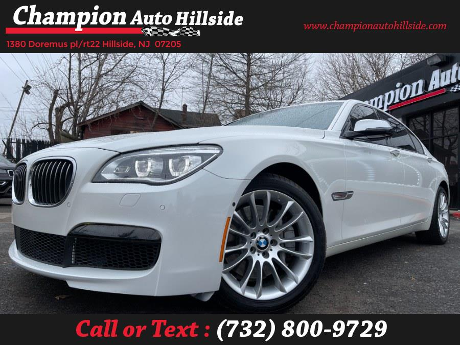 Used 2015 BMW 7 Series in Hillside, New Jersey | Champion Auto Hillside. Hillside, New Jersey
