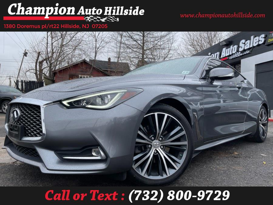 Used 2018 INFINITI Q60 in Hillside, New Jersey | Champion Auto Hillside. Hillside, New Jersey
