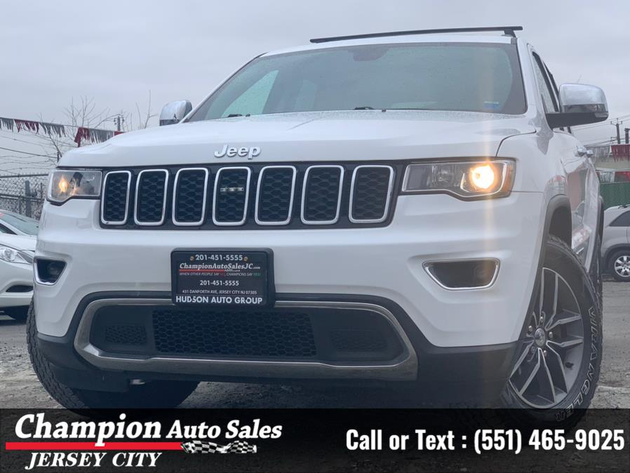 Used Jeep Grand Cherokee Limited 4x4 2017 | Champion Auto Sales of JC. Jersey City, New Jersey