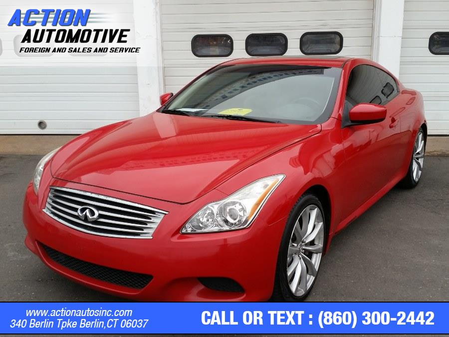 Used Infiniti G37 Coupe 2dr Sport 2008 | Action Automotive. Berlin, Connecticut