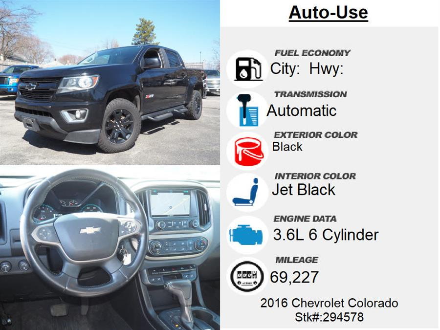 Used Chevrolet Colorado Z71 2016 | Autouse. Andover, Massachusetts