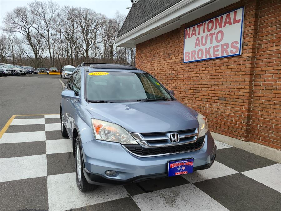 Used Honda CR-V 4WD 5dr EX-L w/Navi 2010 | National Auto Brokers, Inc.. Waterbury, Connecticut