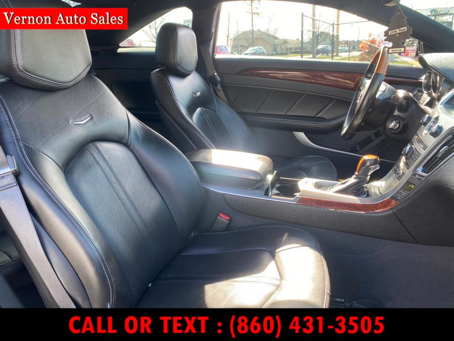 Used Cadillac CTS Coupe 2dr Cpe Premium AWD 2011 | Vernon Auto Sale & Service. Manchester, Connecticut