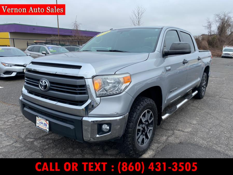 Used 2014 Toyota Tundra 4WD Truck in Manchester, Connecticut | Vernon Auto Sale & Service. Manchester, Connecticut