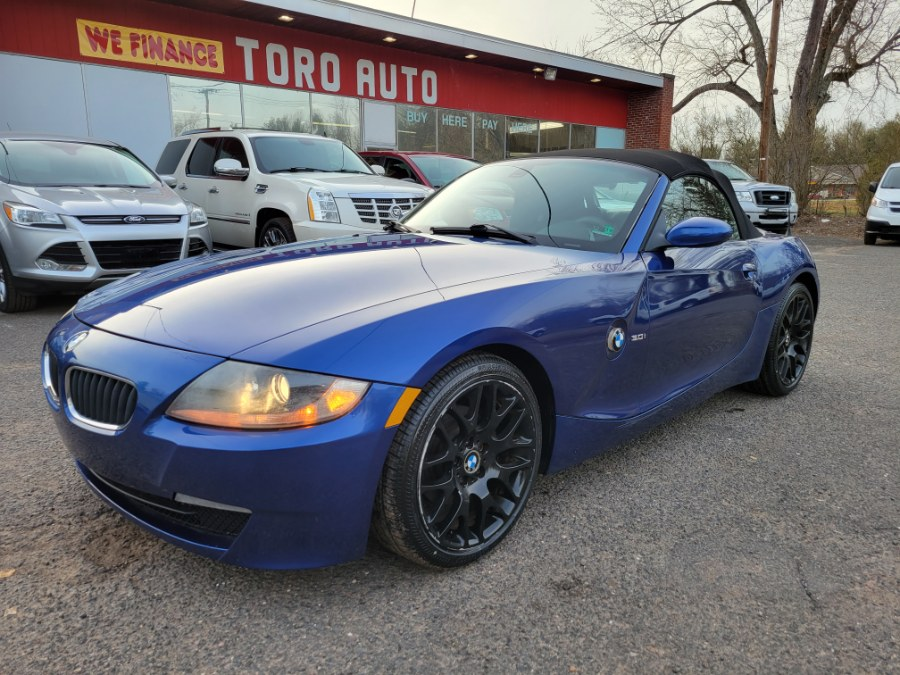 Used BMW Z4 6 Speed Manual Z4 2dr Roadster 3.0i 2006 | Toro Auto. East Windsor, Connecticut
