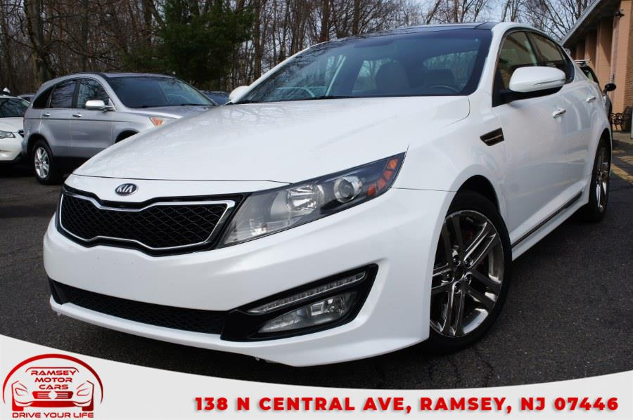 Used Kia Optima 4dr Sdn SX w/Chrome Limited Pkg 2013 | Ramsey Motor Cars Inc. Ramsey, New Jersey