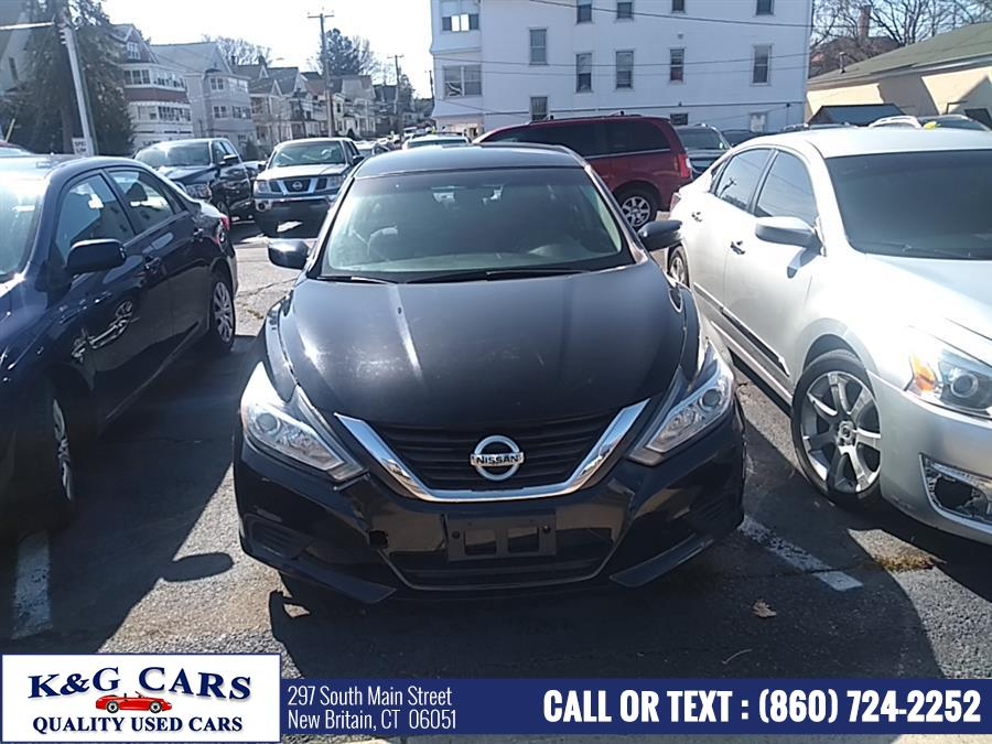 Used Nissan Altima 4dr Sdn I4 2.5 2016 | K and G Cars . New Britain, Connecticut
